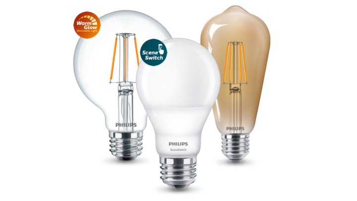 Philips LED-Lampen Produktangebot
